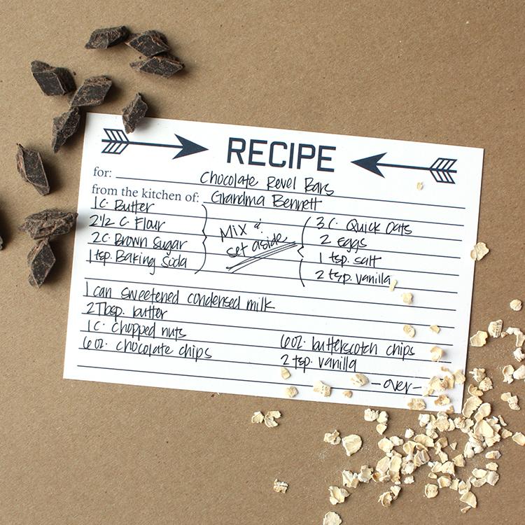 Arrow Recipe
