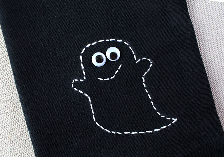 Stitched Ghost Napkins | Christina Williams