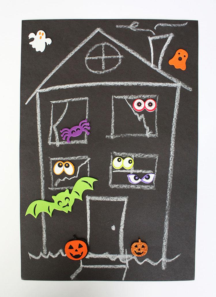 Haunted House Math Haunted House 4