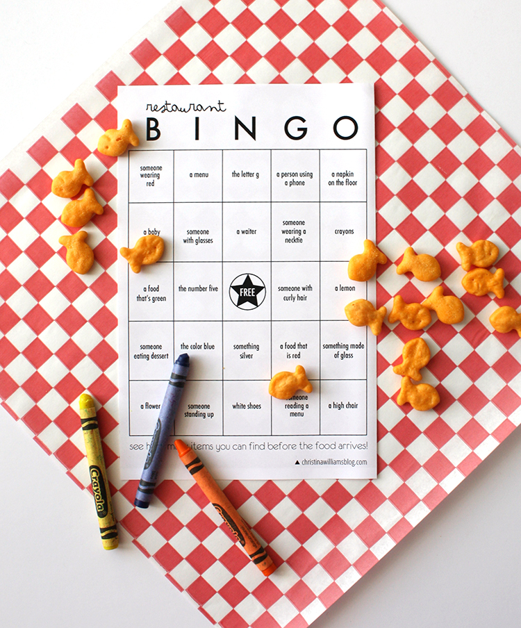 Restaurant Bingo copy