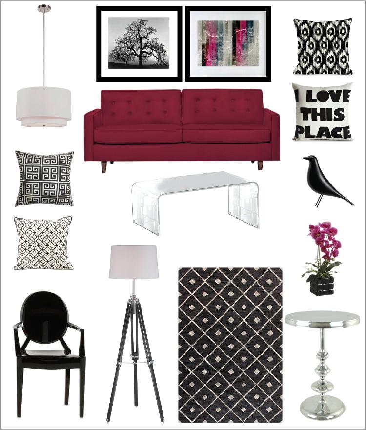 One sofa, three ways