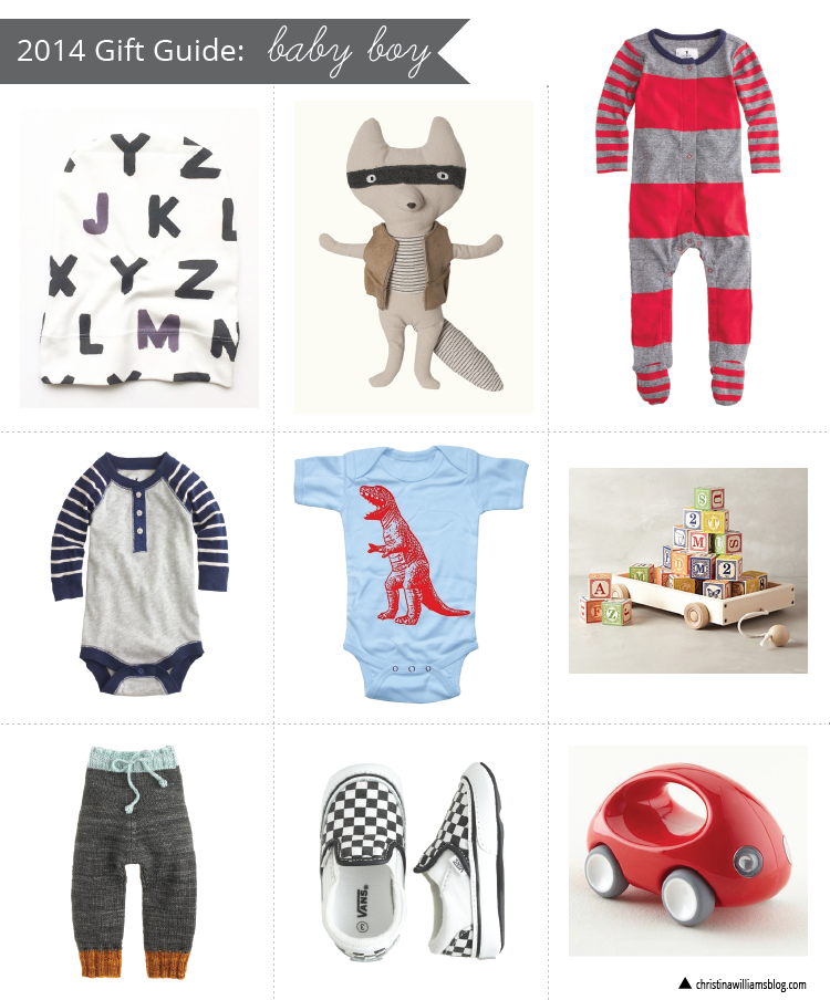 2014 Gift Guides Baby Boy