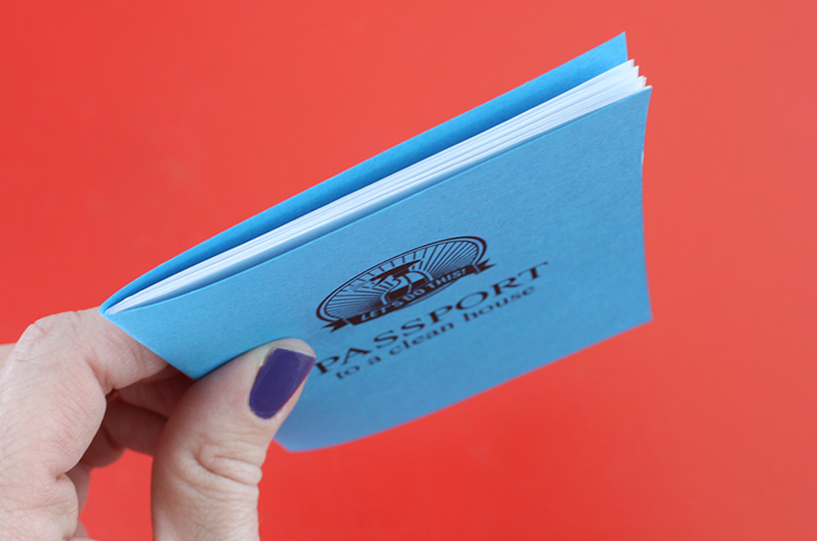 Printable Cleaning Passports