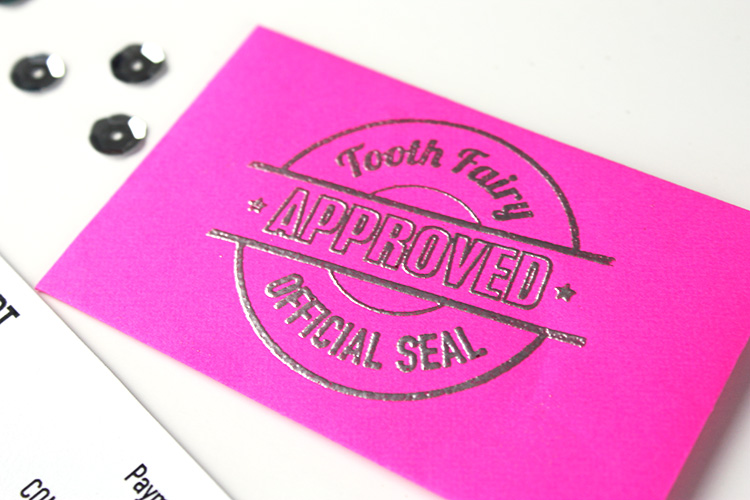Embossed Tooth Fairy Envelope