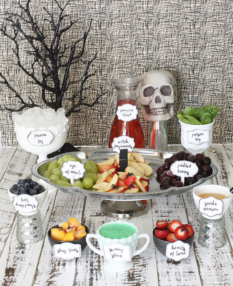 Spooky Smoothie Bar