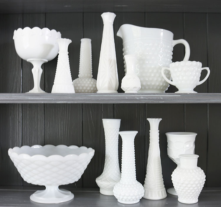 milk-glass