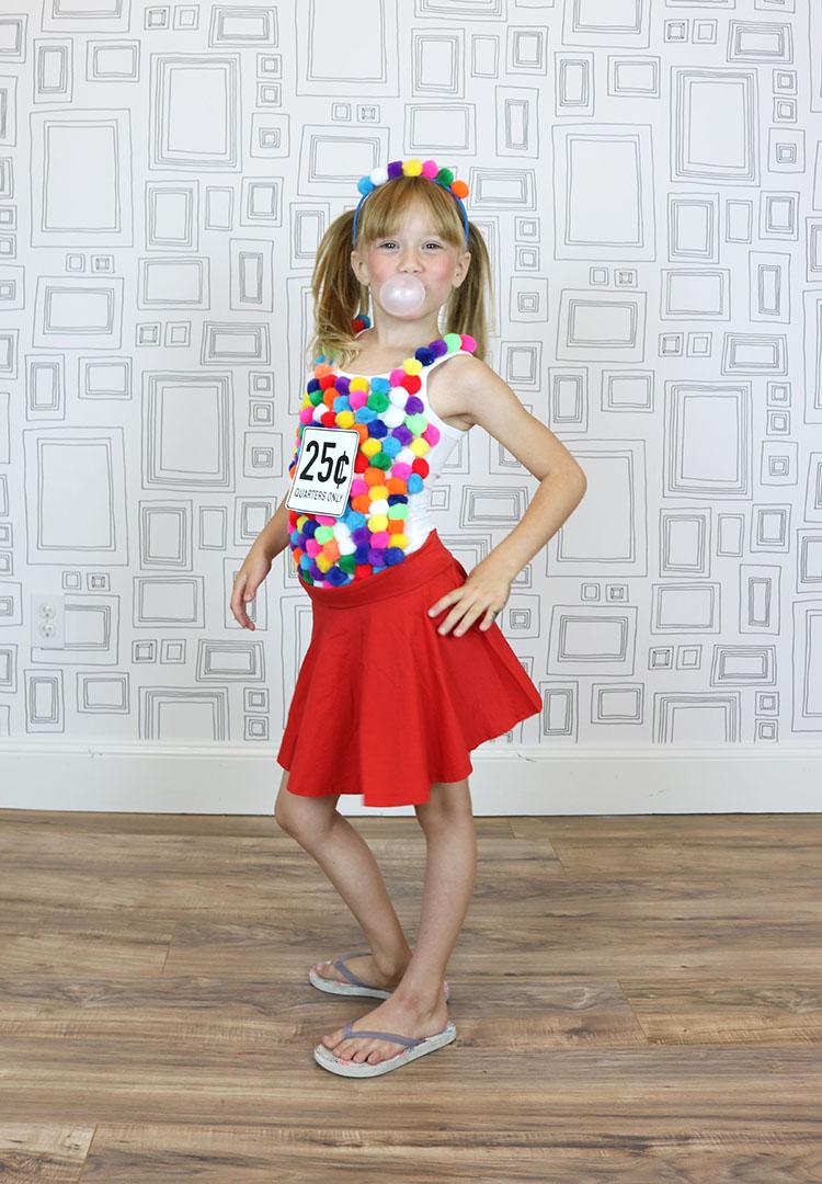 Gum Ball Machine Costume