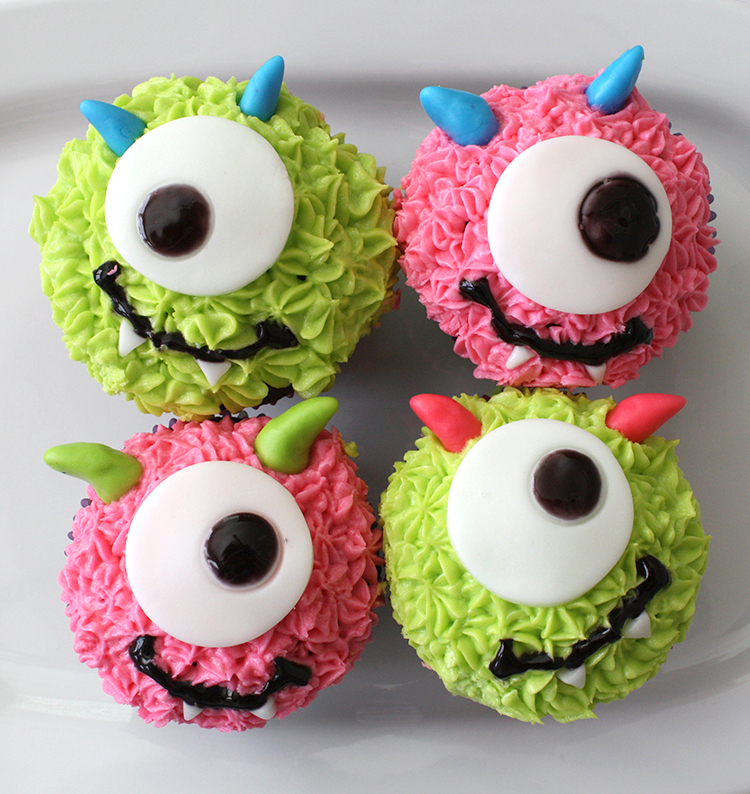 Monster Cupcakes on Diy Cupcake Box