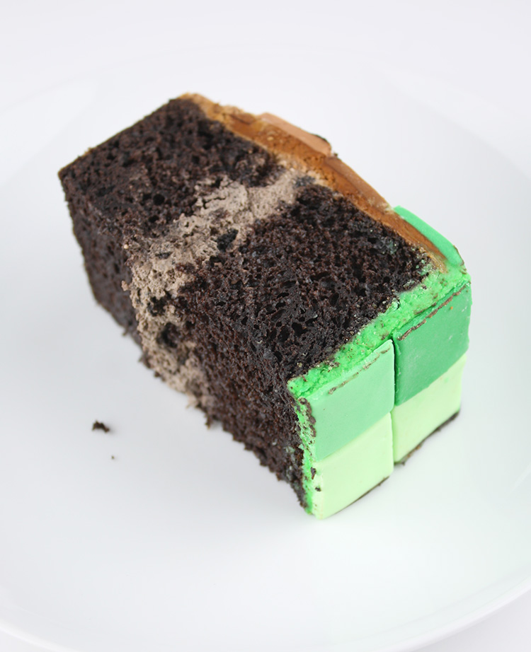 Minecraft Cake Filling