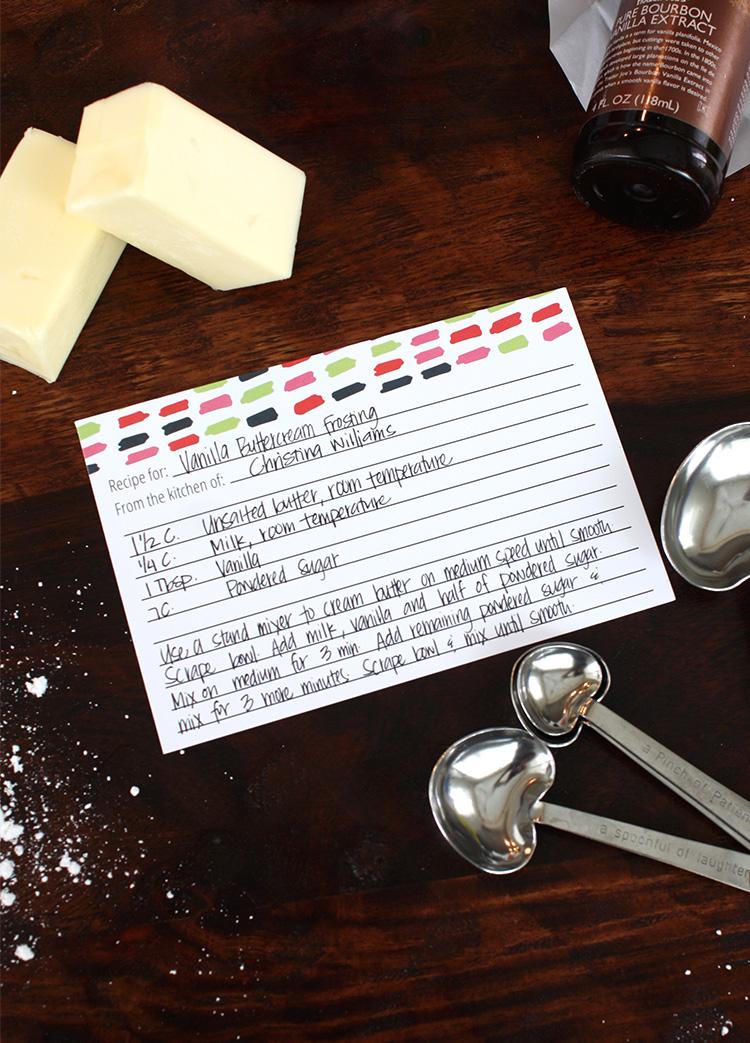 Buttercream Recipe