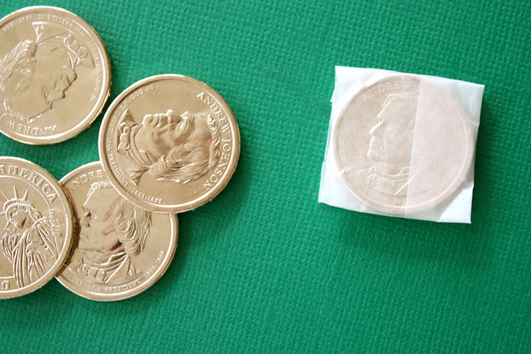 Wrapping Coins