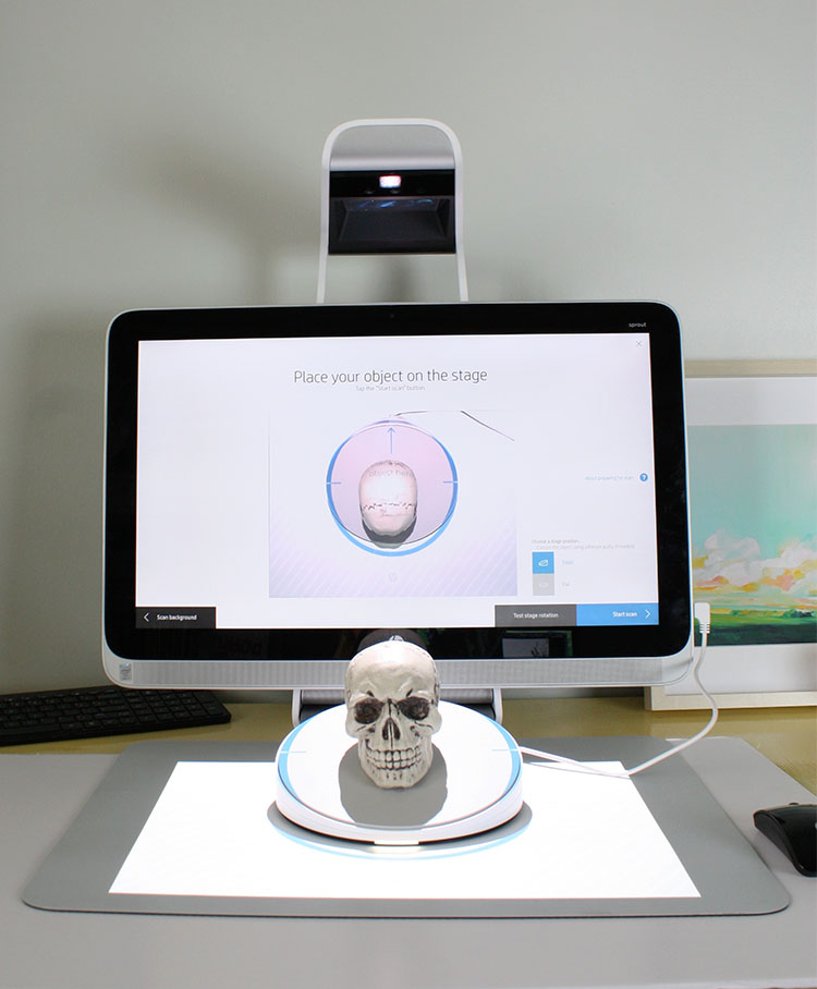 Sprout 3D Scanning