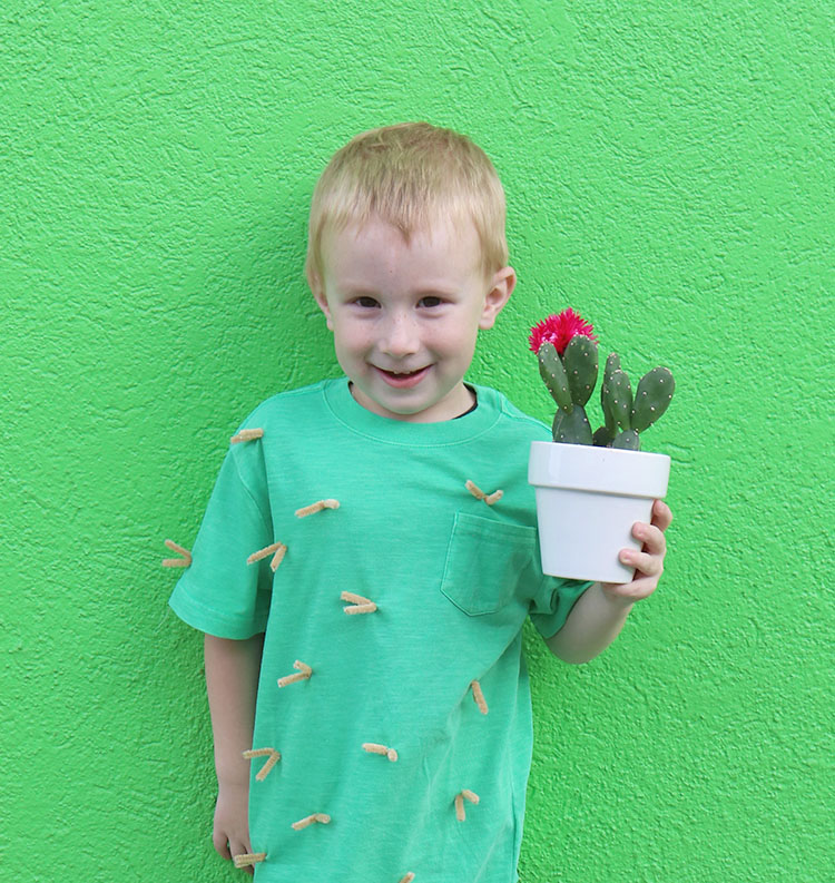 Easy Cactus Costume