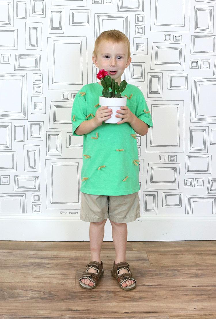 Simple Cactus Costume