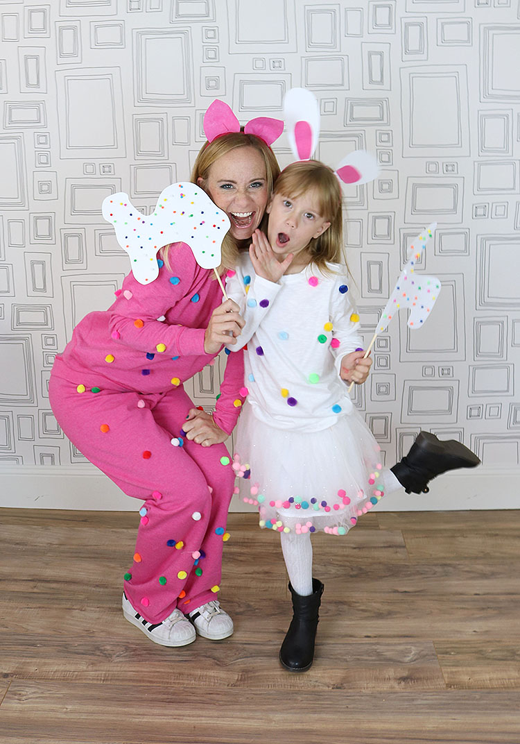 Cute Last-Minute Costume