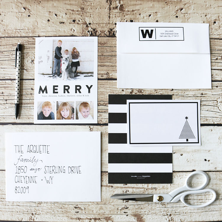 Simple Holiday Greeting Cards