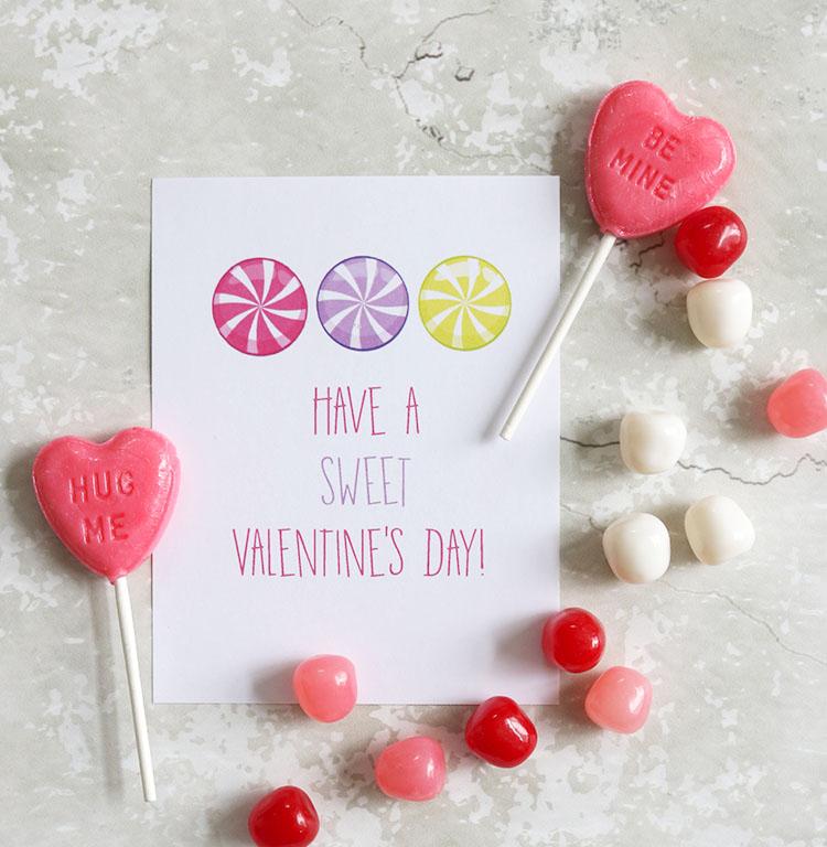 Sweet Valentine - Free Printable
