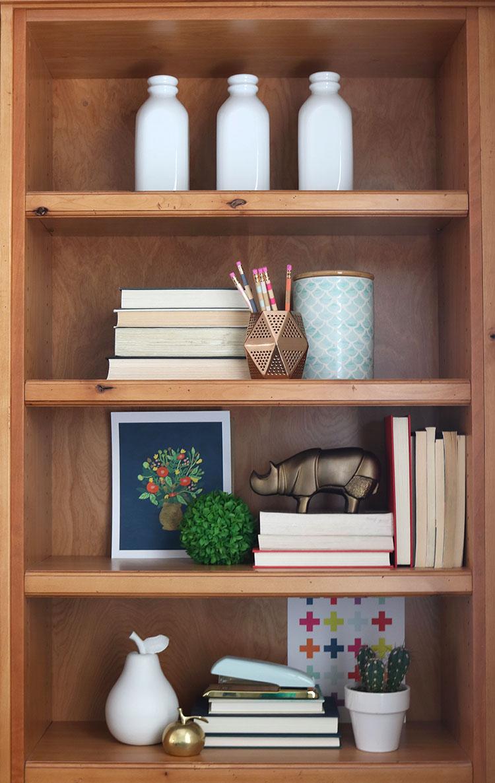 Home Tour - Bookshelves