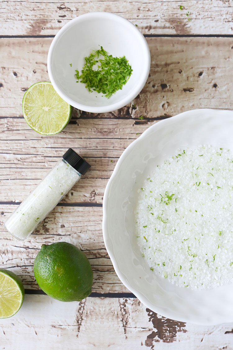 Lime, Mint, Coconut Bath Salt