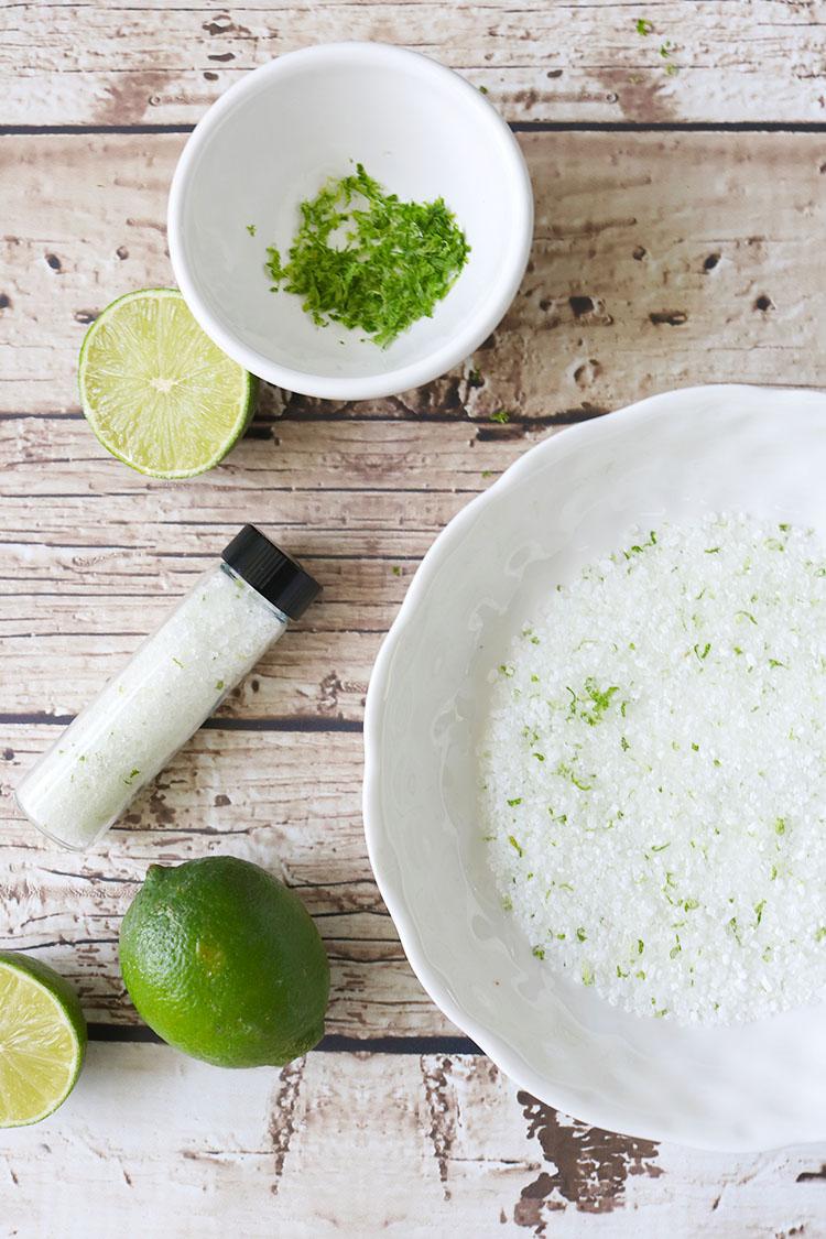 Lime, Mint, Coconut Bath Salt
